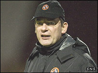 Dundee United manager Craig Levein
