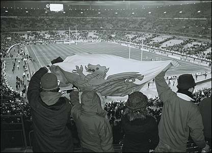 Oliver Terry captures the atmosphere at the Stade de France