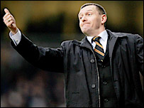 Watford boss Aidy Boothroyd