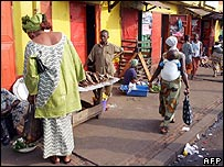 Guineans on the streets of Conakry