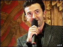 French comedian Gerald Dahan