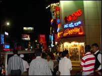 night out brigade road Bangalore