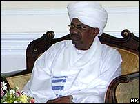 Sudanese President Omar al-Bashir on 10 January 2007