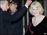 Prince Charles and the Duchess of Cornwall in Philadelphia