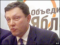 Yabloko's head Grigoriy Yavlinsky. File photo