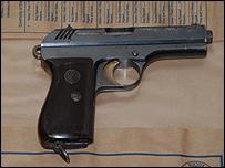 7.65mm pistol