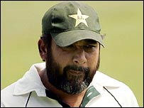 Pakistan captain Inzamam-ul-Haq