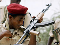 Somali policeman