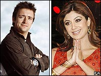 Richard Hammond and Shilpa Shetty