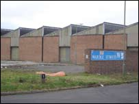 former Wardle Storey factory