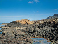 Giant's Causeway in north Antrim