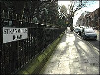 Stranmillis Road, South Belfast