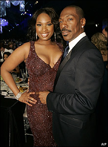 Eddie Murphy and Jennifer Hudson