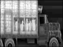 Machine used on lorry