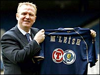 New Scotland boss Alex McLeish