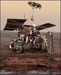 Exomars rover  Image: Esa