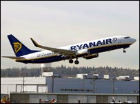Ryanair plane