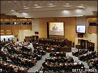 El plenario de la Unión Africana en Etiopía