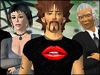 Second Life avatars (pic: Linden Lab website)