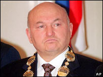 Moscow's mayor Yuri Luzhkov. File photo
