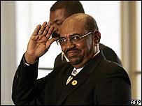 El mandatario sudan�s, Omar Al Bashir