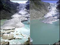 Glacier. Image: Glaciers Online/Jurg Alean