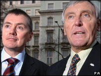 Willie Walsh and Tony Woodley