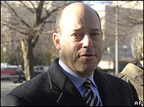 Ari Fleischer arriving in court 29 January 2007