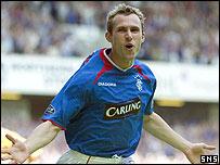 Rangers midfielder Thomas Buffel