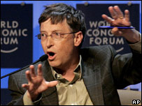 Bill Gates in Davos