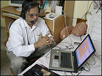 Biology teacher Vishal Bhatnagar