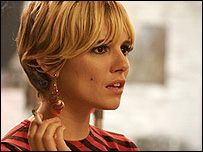 Sienna Miller as Edie Sedgwick in Factory Girl
