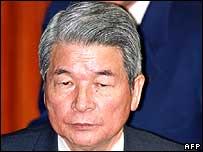 Health Minister Hakuo Yanagisawa