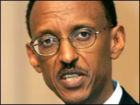 Paul Kagame (file image)