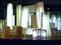 Model of CCTV building