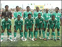 The Nigeria Under-20 team
