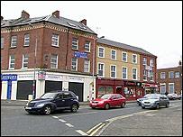Carlisle Circus, North Belfast
