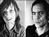 Andreas Baader y Gudrun Ensslin
