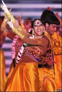 Coreografía de Bollywood