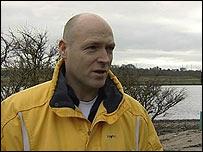 Geoff Millar, diver