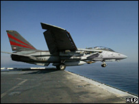 F-14 fighter (file image)