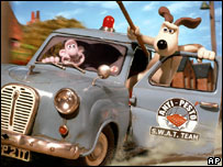 Still from Wallace & Gromit: The Curse of the Were-Rabbit