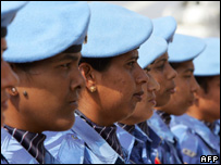 Female Indian UN troops 
