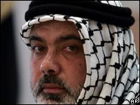 Palestinian Prime Minister Ismail Haniya of the Islamic group Hamas