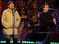 Paul Heaton and Dave Hemingway of The Beautiful South