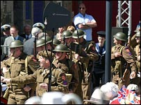 Liberation Day re-enactment