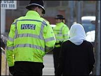 Police in Birmingham