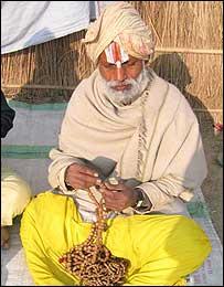 A Kalpavasi pilgrim