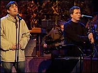 Paul Heaton and Dave Hemmingway