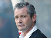Southampton boss George Burley